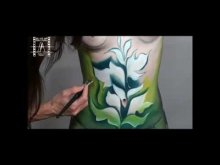 Embedded thumbnail for Maľovanie tela: tematika kvetov